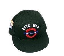 Underground Baseball Cap-Underground Roundel con ESTD 1863ricamato, Transport for London Souvenir