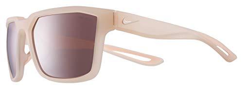 Nike Unisex-Erwachsene Fleet E Ev0994 880-0-16-135 Sonnenbrille, Beige, 55