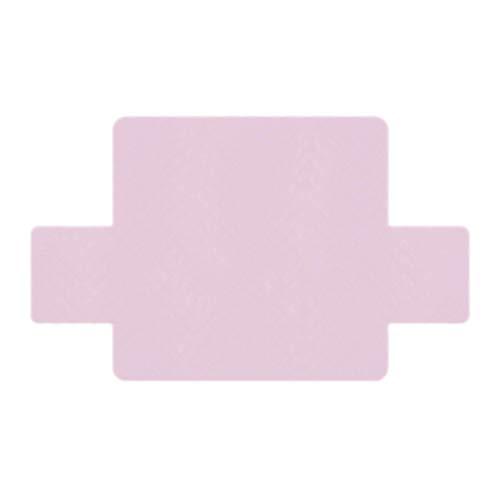 Homyl copertura per divano protettore da mobili fodera antiscivola impermeabile home decor - rosa chiaro - 3 posti