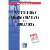 Institutions administratives et judiciaires. : Edition 2001-2002