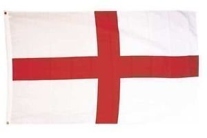 England-Flagge 152 x 91cm Kreuz von St George Flagge National Football Sports Pub Auto
