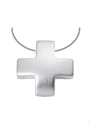Silber Kreuz Anhänger 925 Sterling Silber