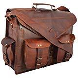 Best maletín de cuero - Bolso con bandolera hecho a mano para ordenador Review