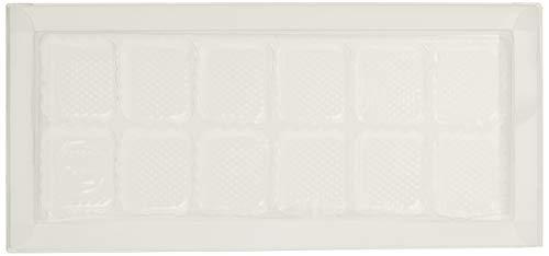 Unbekannt Martellato 25Stück Kunststoff Chocolate Box, 12Mulden, 210x 100x 23mm, transparent 23 Chocolate Mold