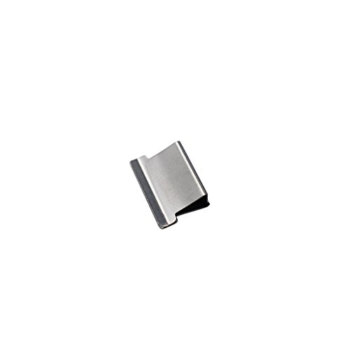 Kcopo Papier Schnelle Clam Hefter Dispenser Clips Papier Fast-Clam 16MM Hefter Dispenser Clips Tacker Spender 50 Stück