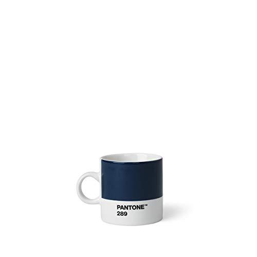 PANTONE 101040289 Tasse à expresso Céramique Bleu Foncé 289 C 6,20 x 8,60 x 6,15 cm