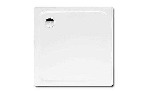 duschwannen kaldewei Kaldewei Superplan Quadrat Duschwanne weiß 100 x 100 x 2,5 cm 447048040001 inkl. Styroporträger / Wannenträger, Ablaufgarnitur:ohne Viega Ablaufgarnitur flach