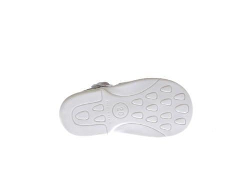 Sandales pour Petites Filles Première Calzadura mod.928. Chaussures Enfant Tous Peau Made in Spain Produit de Qualité. Blanc Cassé - blanc