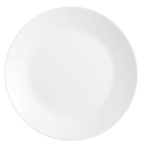 Arcopal Zelie - Vajilla, 19 piezas, color blanco