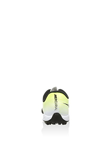 Nike Unisex – Bimbi 0-24 Jr Mercurial Vortex II TF scarpe da calcio Bianco (Blanco (White / Black-Volt-Total Orange))