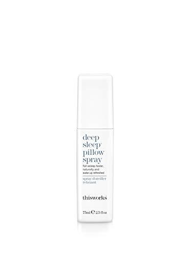 This Works Deep Sleep Pillow Spray - Kissenspray zum Einschlafen, 1er Pack (1 x 0.075 kg) - Lavendel-aromatherapie-spray
