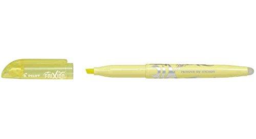 PILOT Textmarker FRIXION light soft, pastellgelb SWFLSY