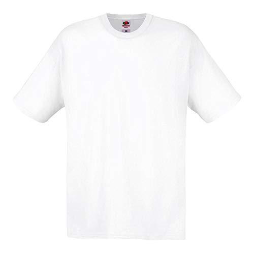 Fruit of the Loom - Original Full Cut T-Shirt L,White