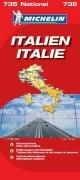Italien 2008. 1 : 1 000 000. Straßenkarte: Nationalkarte. Ortsverzeichnis. Entfernungen und Fahrtzeiten. Verkehrsinformationen. Schiffsverbindungen Karte