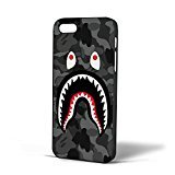 Bape Shark Black Army Pattern for coque Iphone Case coque (coque Iphone 6s plus...