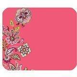 vera-bradley-flower-print-muster-pink-mousepad-personalisiert-rechteckig