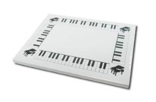 white-keyboard-post-it-notes
