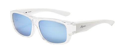 Joysun polarisierte LensCovers Sonnenbrille Unisex tragen über Korrekturbrille 9011