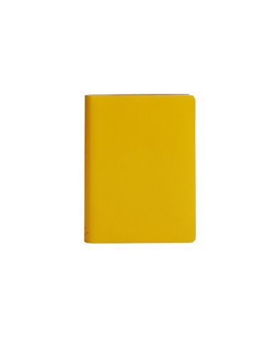 paperthinks-recycled-leather-9-x-13cm-256-page-pocket-squared-notebook-mango