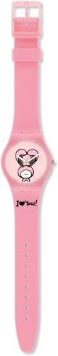 Swatch Mädchen-Armbanduhr Analog Plastik GZ265 - 2