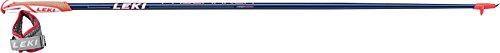 LEKI Pacemaker Nordic Walking Stock, Dark Blue Metalic/White/Neon Red, 120