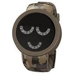 starpy VSTA _ C55D-Clock, Silicone Strap Multicolor