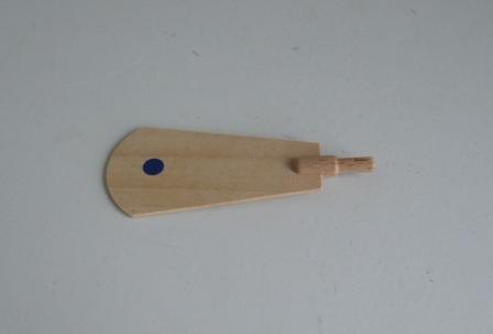 Ersatzteile für Pyramiden Flügel-Nr. 70013 blau gepunktet NEU Zubehör Holz