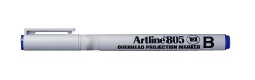 artline-ek805-water-based-over-head-projection-marker-blue