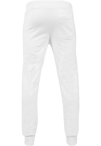 Urban Classics Herren Hose Straight Fit Sweatpants White