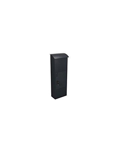 Helsinki BG57000 Stahl Paket-Briefkasten 39 cm Breite x 24 cm L/änge x 105.3 cm H/öhe 175660 TOOLLAND