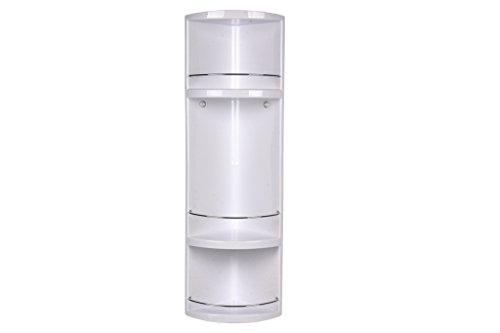 Cofan 42001224 - Rinconera Ducha, Blanco, 70x16x16 cm