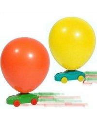 Ballon Rennen - Packung mit 5 stück