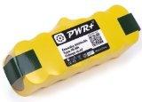 PWR + Replacement-battery pour Irobot-roomba Série 600Professional Pro Aspirateur Robot Backup Extended Capacity 3000 mAh jaune