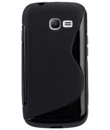 Samsung Galaxy Music Duos Back Cover , [GT-S6012] Hybrid S-Line Matte Finish Back Cover Case  available at amazon for Rs.179
