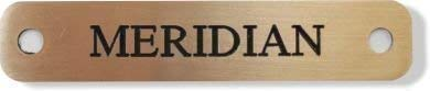 Equine Head collar name plate 100mm x 20mm Engraved brass by Cleveland Studios