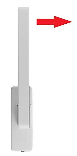 GU 966 PSK Griff Drehgriff K12920  weiss braun silber GU 34225