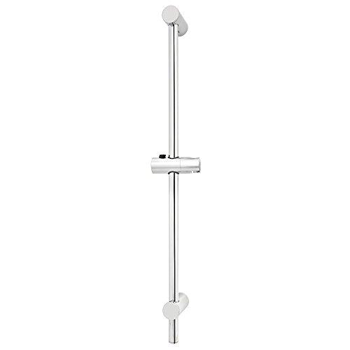 VARIOSAN Wandstange Classic 10278, 100 cm, verchromt, variabel - Wandhalterung Edelstahl-kappe