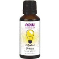 Now Essential Oils Mental Focus Blend - Pack of 2 by Now Oils