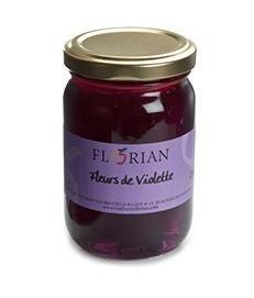 Confit de fleurs de violette pot de 120 grammes