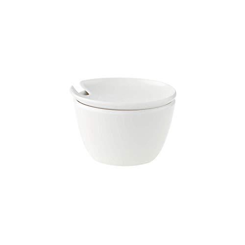 Villeroy & Boch Flow Zuckerdose, Premium Porzellan