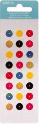 Pebbles Hip Hip Hooray Candy Dots Kreise Pailletten Aufkleber Hip Dot
