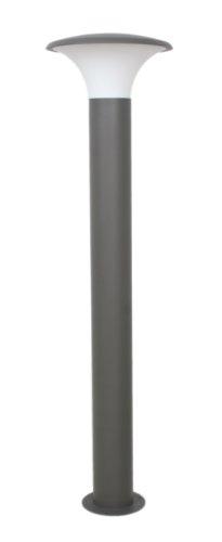 Trio Leuchten LED Außen-Wegeleuchte, Aluminiumguss, inklusiv 1 x E27, 4 W, Höhe 120 cm, ø 27 cm, anthrazit 420160142