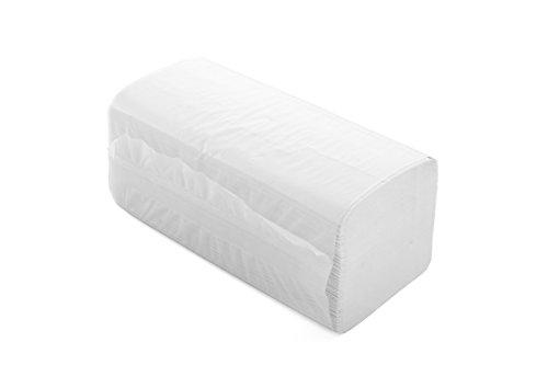 Blatt Top (Semy Top ST-77060 Papierhandtuch, ZZ-Falz, 2-lagig, Recycling, 24 cm x 22 cm (4000-er Pack))