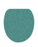 Kleine Wolke Soft Toilet Seat Cover, Green/Grey, 47 x 50 cm