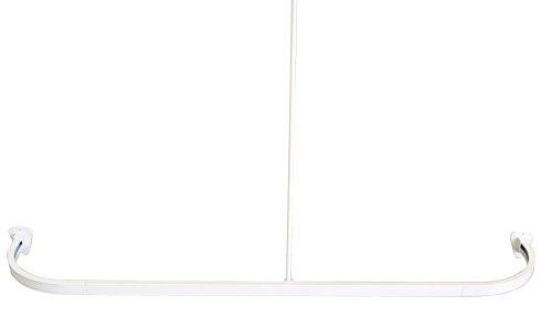 Ridder 52501-0 Barre de douche arrondie Blanc 90 x 90 x 90 cm