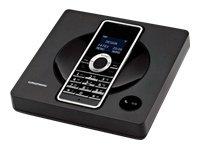 Grundig Scenos A1 Schnurlostelefon mit Anrufbeantworter schwarz