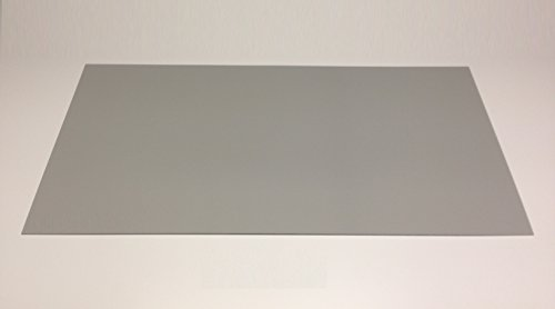 3,0 mm Forex ® color grau Hartschaum Platte 1520 x 315 mm Messewand PVC