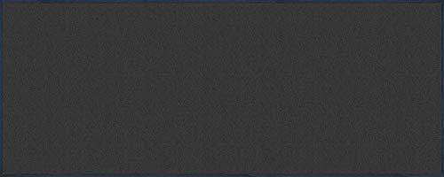wash+dry Fußmatte Dunkelgrau 75x190 cm