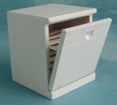Preisvergleich Produktbild Maßstab: 1: 12Puppenhaus Miniaturen Geschirrspüler df982