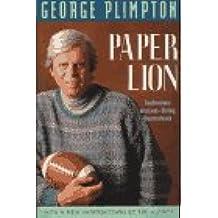 Paper Lion/Confessions of a Last-String Quarterback